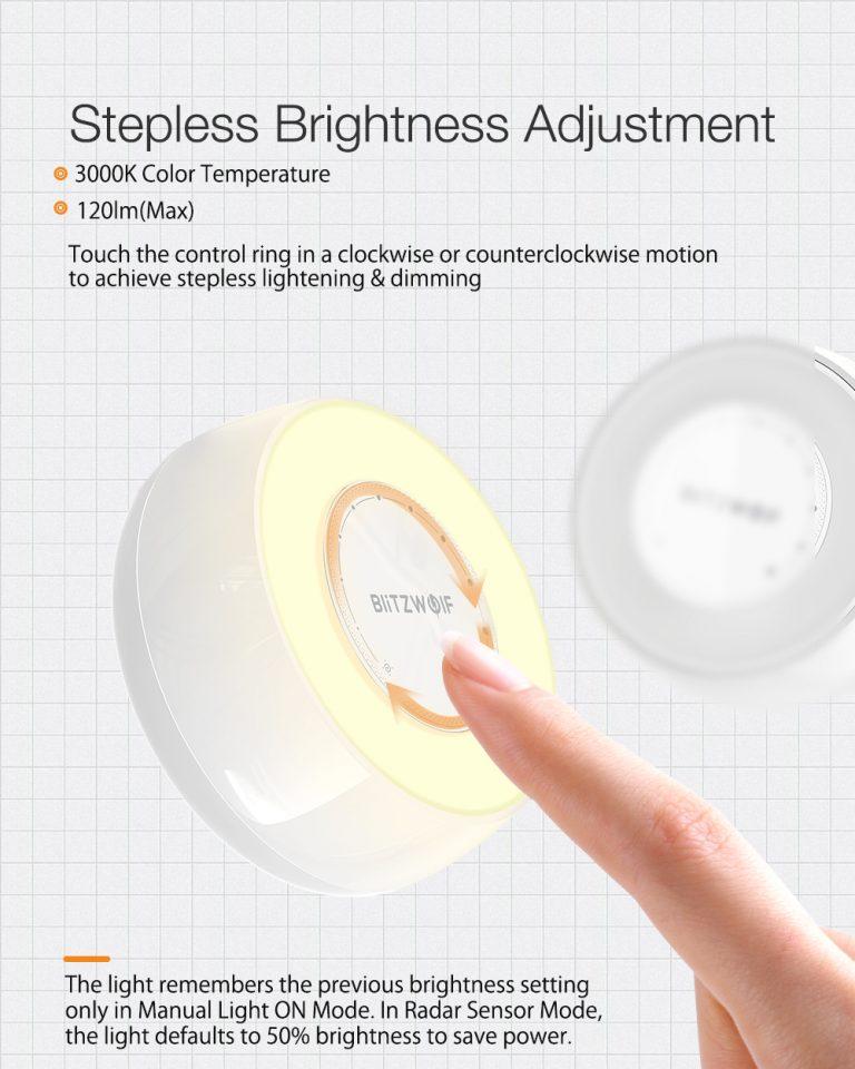 Ismét olcsón kapható a BW-LT22-es éjjelilámpa 7