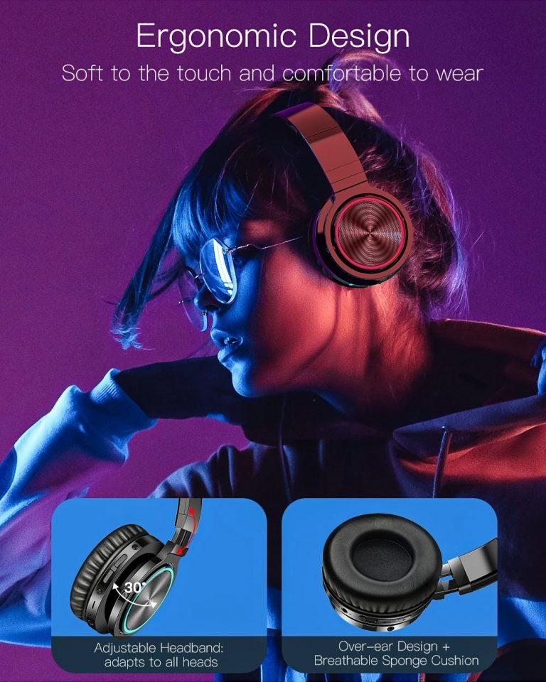 BlitzWolf Bluetooth fejhallgató fillérekért 7