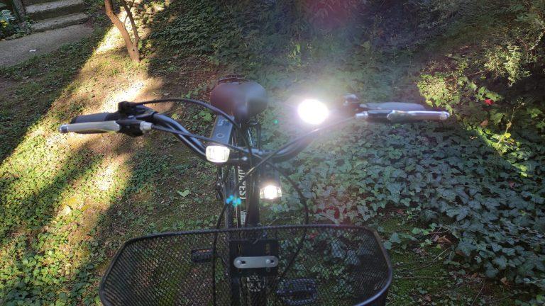 Gaciron és Xanes bringalámpák tesztje 19
