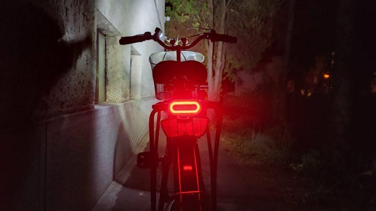 Gaciron és Xanes bringalámpák tesztje 31