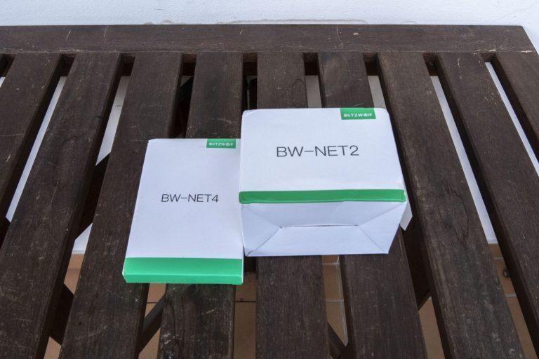 BlitzWolf BW-NET2 és NET4 WiFi repeater teszt 2