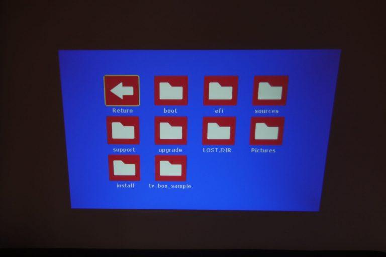 BlitzWolf BW-VP5 projektor teszt 15