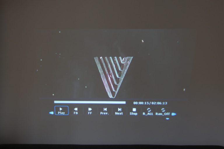BlitzWolf BW-VP5 projektor teszt 16