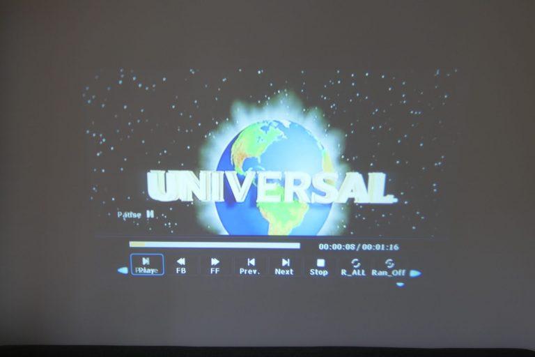 BlitzWolf BW-VP5 projektor teszt 17