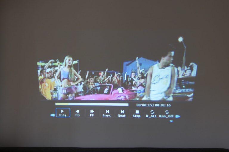 BlitzWolf BW-VP5 projektor teszt 18