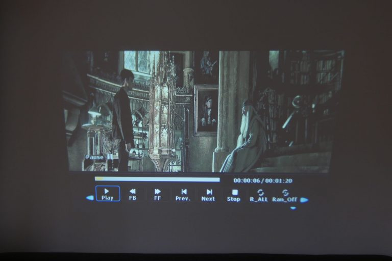 BlitzWolf BW-VP5 projektor teszt 20