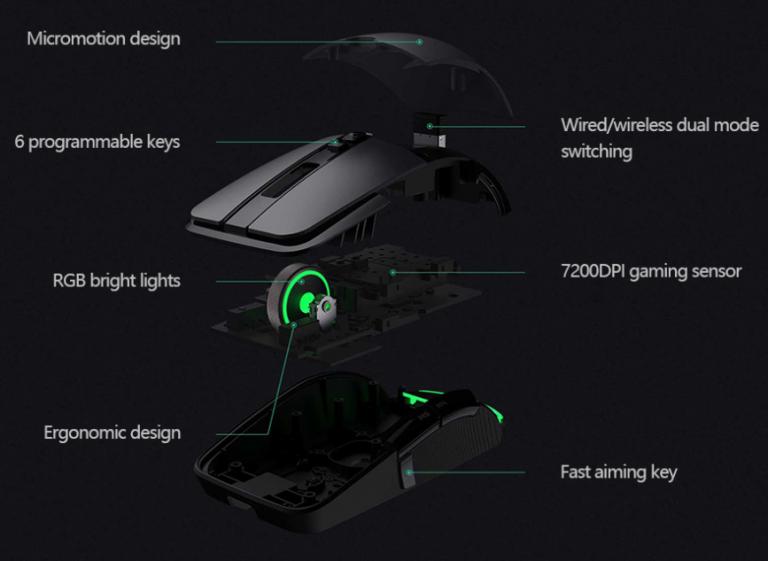 Már 9000 forintért vihető a Xiaomi extra menő gamer egere 2
