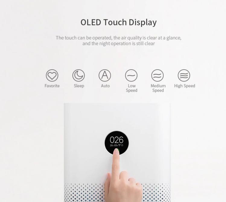 Újra olcsón rendelhető a Xiaomi Air Purifier 3H 5