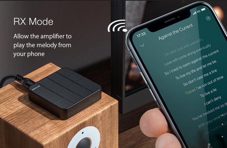 Bluetooth-os audió adó-vevő gombokért 3