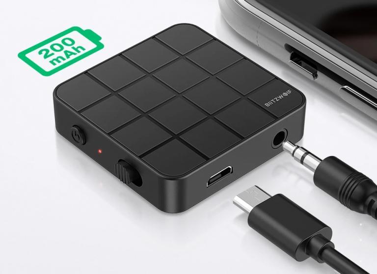 Bluetooth-os audió adó-vevő gombokért 5