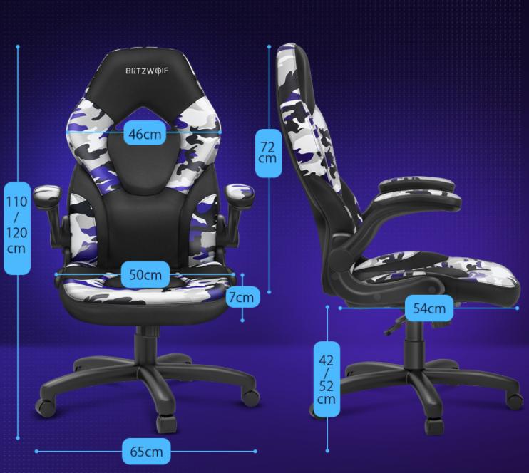 Ismét rendelhető a BlitzWolf GC4 gamer szék 8