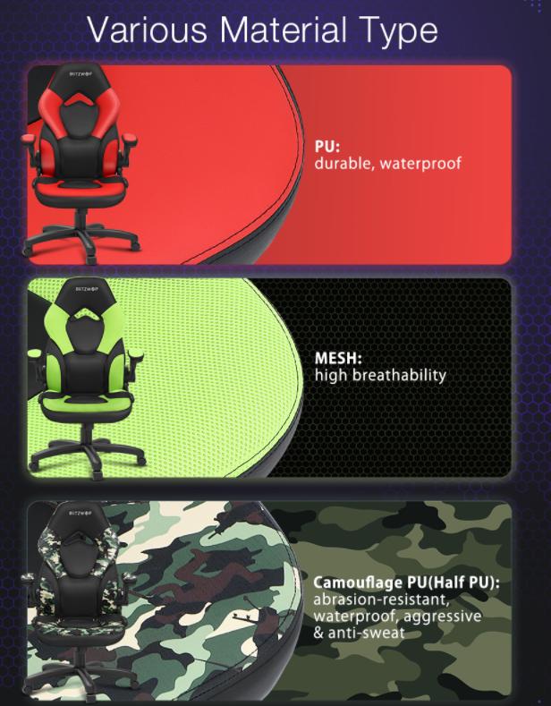 Ismét rendelhető a BlitzWolf GC4 gamer szék 6