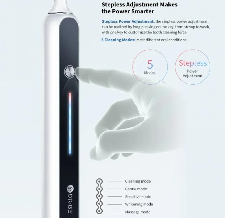 Extrém jó ajánlat a DR-BEI S7 fogkefére 4