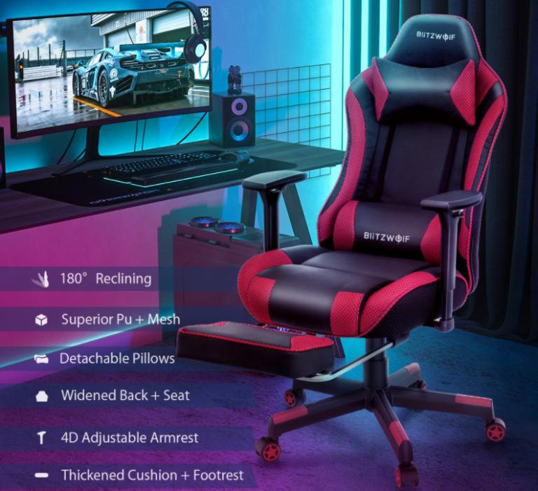 Felkerült a pont az i-re a BlitzWolf BW-GC5 gamer székkel 2