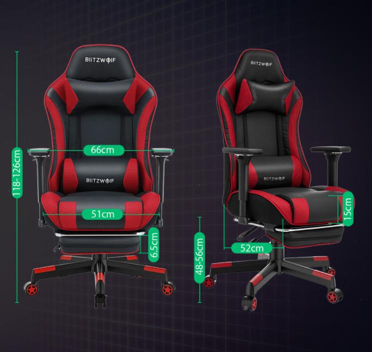 Felkerült a pont az i-re a BlitzWolf BW-GC5 gamer székkel 8