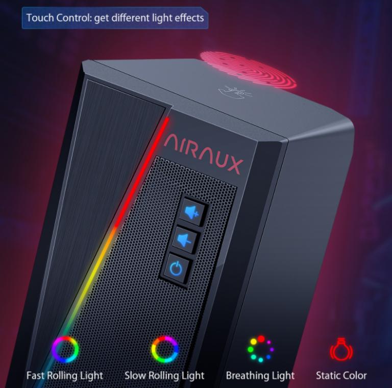 PC-s sztereó hangszórót villantott az Airaux 3