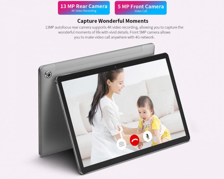 Teclast M18 tablet: 4 GB RAM, 128 GB ROM, 10 mag 6