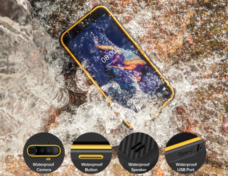Meglepő árazással jelent meg az Ulefone Armor X8 strapatelefon 2
