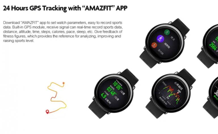 Brutálisan olcsón lehet megvásárolni az Amazfit Pace okosórát 4
