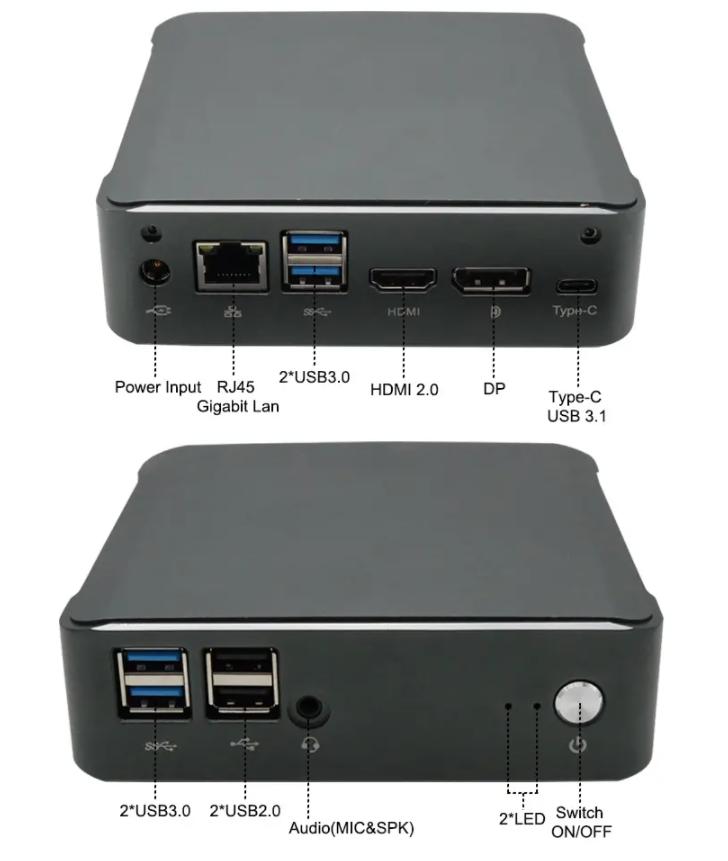 Felső kategóriás laptop hardver egy mini PC-ben, fillérekért 6