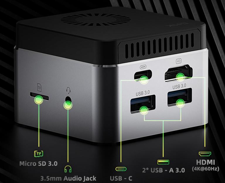 Piszok olcsón megvásárolható a GMK NucBOX PC 6