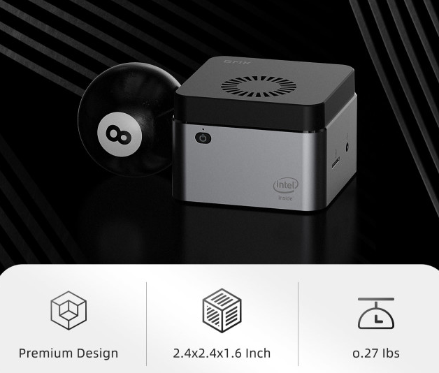 Piszok olcsón megvásárolható a GMK NucBOX PC 4