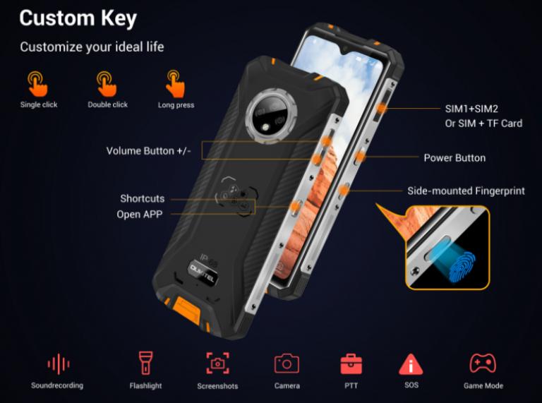 Előrendelhető az Oukitel WP8 Pro strapatelefon 7