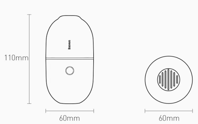 Új mini méretű porszívót jelentetett meg a Baseus 9