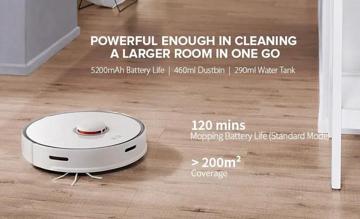 Lehet 'olcsón' Roborock S5 Max robotporszívót rendelni 2