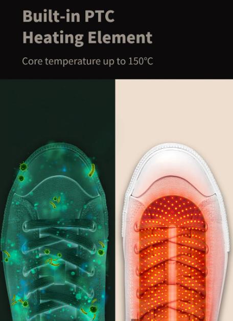 Akciós Xiaomi cipőszárító a Banggoodon 4
