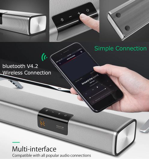 Olcsó soundbar otthonra – BlitzWolf BW-SDB2 XR 6