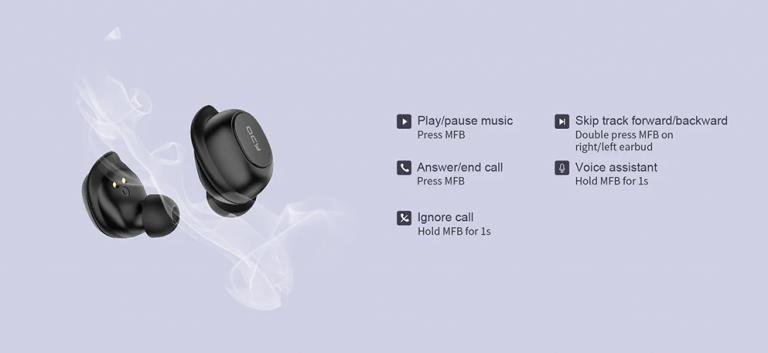 Újabb olcsó TWS füles: QCY T9S 6