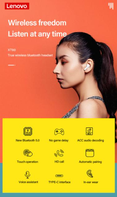 Újabb olcsó fülest villantott a Lenovo 3