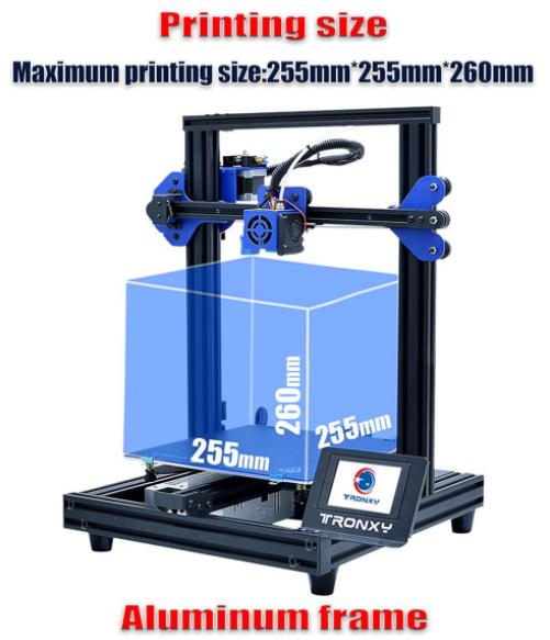 3D nyomtatás otthon, a Tronxyval 3