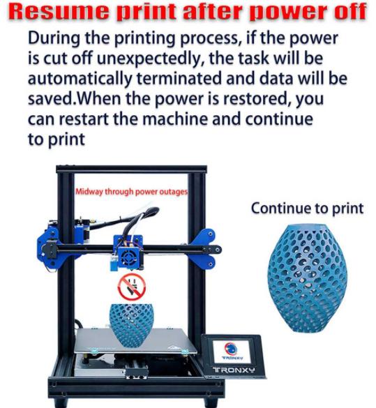 3D nyomtatás otthon, a Tronxyval 8