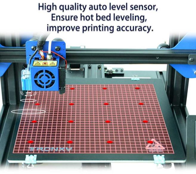 3D nyomtatás otthon, a Tronxyval 7