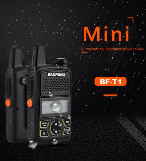 Szuper olcsó a Baofeng BF-T1 walkie-talkie 2