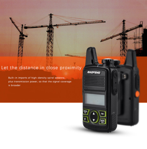 Szuper olcsó a Baofeng BF-T1 walkie-talkie 3