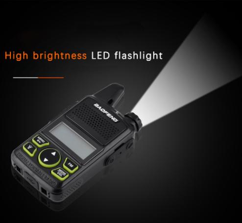 Szuper olcsó a Baofeng BF-T1 walkie-talkie 7
