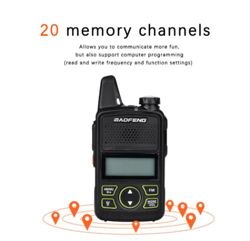 Szuper olcsó a Baofeng BF-T1 walkie-talkie 5