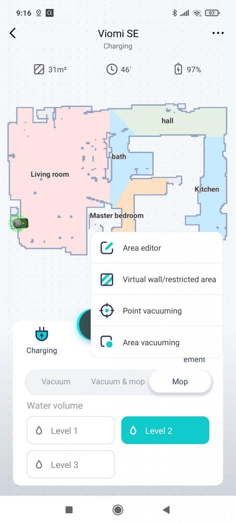 Xiaomi Viomi SE robotporszívó teszt 25