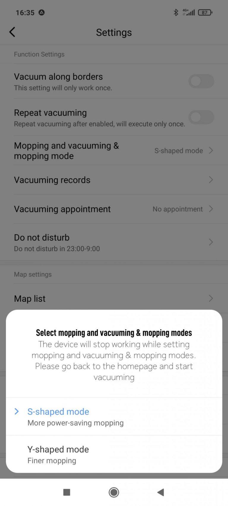 Xiaomi Viomi SE robotporszívó teszt 33