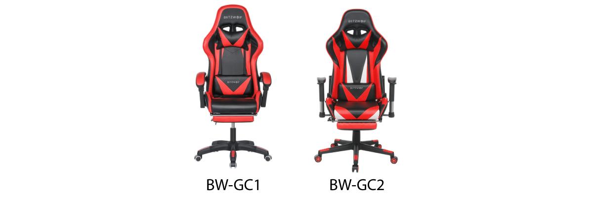 Blitzwolf BW-GC2 gamer szék teszt 2