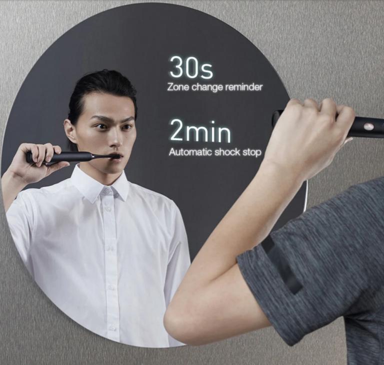 Mélyrepülésben Xiaomi Soocas X3U elektromos fogkefe ára 5
