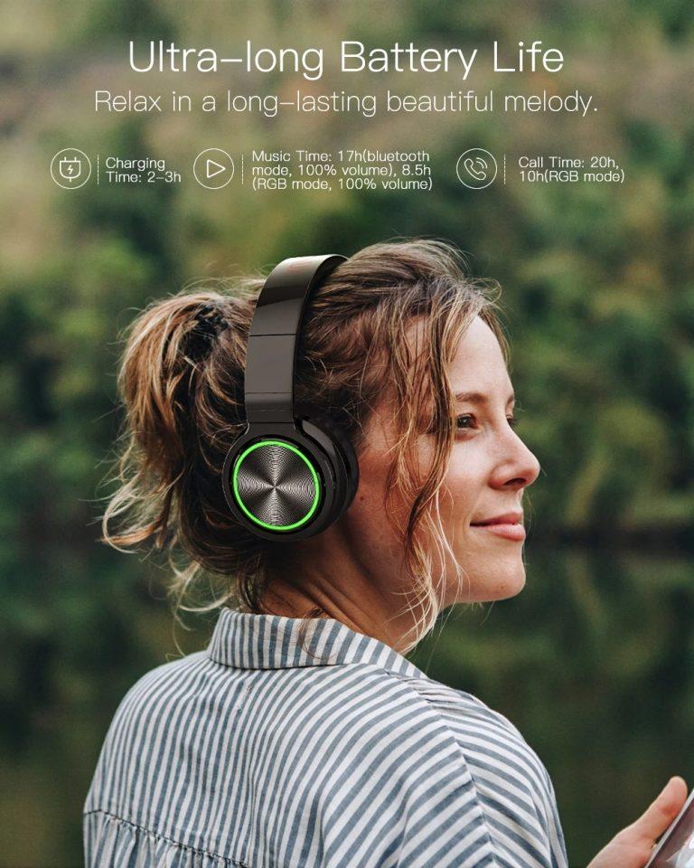 BlitzWolf Bluetooth fejhallgató fillérekért 6