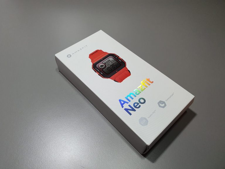 Xiaomi Amazfit Neo retró óra teszt 2