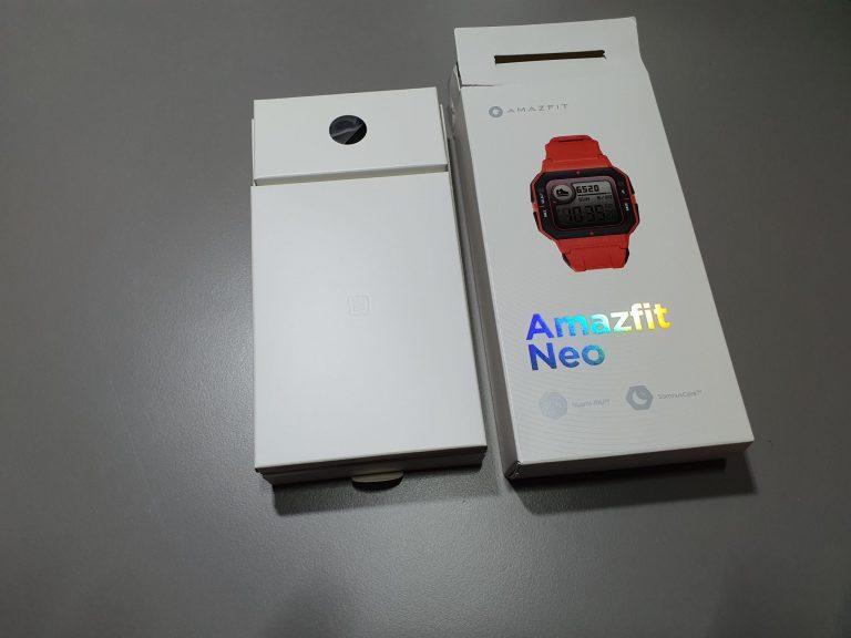 Xiaomi Amazfit Neo retró óra teszt 3