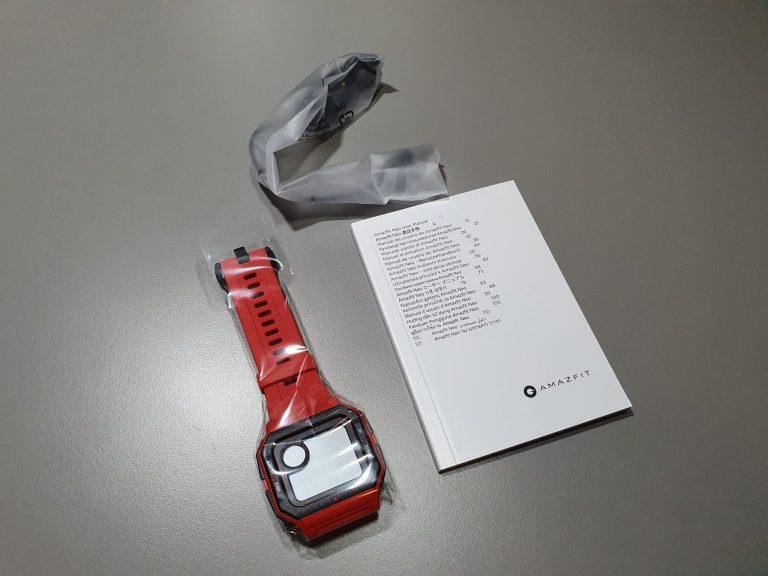 Xiaomi Amazfit Neo retró óra teszt 4