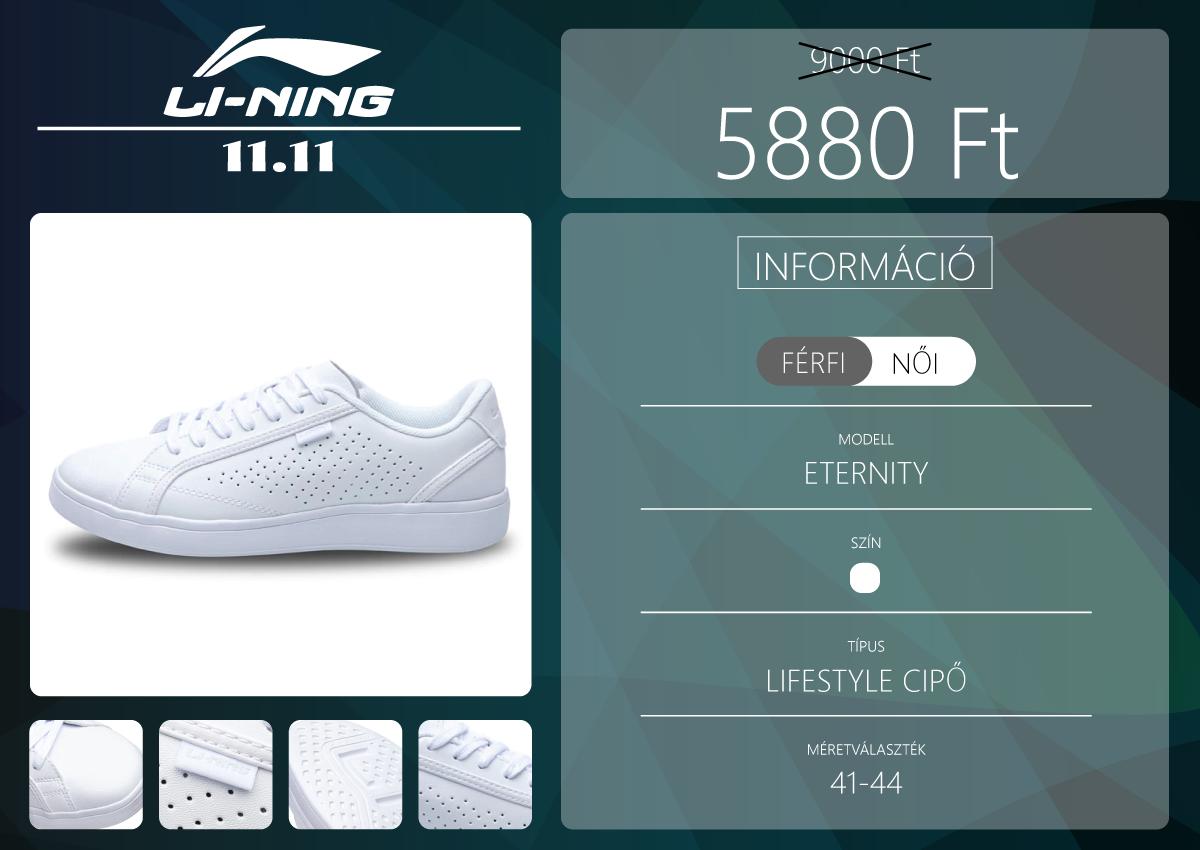 A Li-Ning Official Store 11.11 kincsei 2