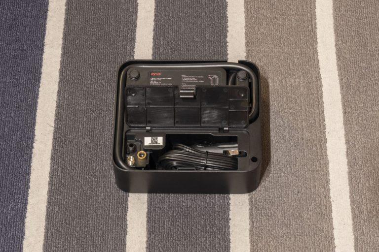 70mai Air Compressor Lite elektromos pumpa teszt 4